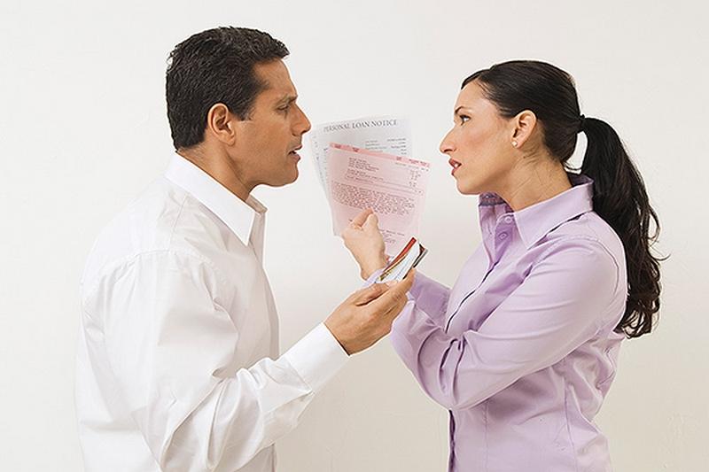 Раздел долговых обязательств при разводе супругов