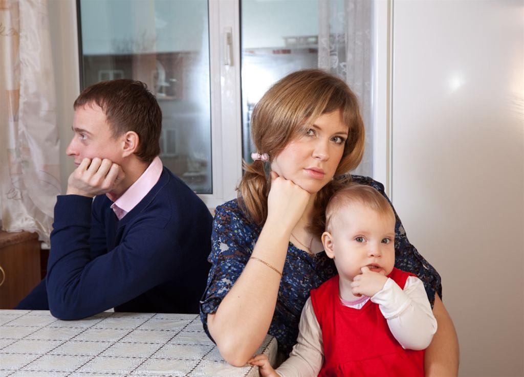 Развод семейной пары с ребенком